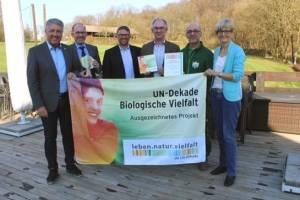 GC Burg Overbach für Biologische Vielfalt ausgezeichnet