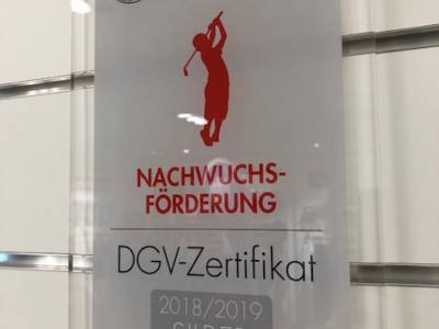 Jugendarbeit erneut vom DGV ausgezeichnet: GCBO auch 2018 erfolgreich
