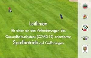 Übergangsregeln zur Nutzung der Golfanlage des GC Burg Overbach