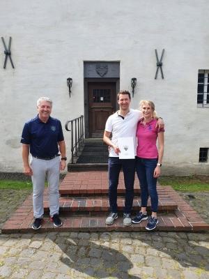 GC Burg Overbach begrüßt das 800. Mitglied