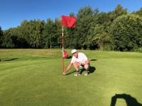 Hole in One für Mario Weesbach