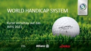 Neues World Handicap System ab 2021